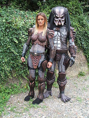 PREDATOR COSTUMES.  MALE or FEMALE .   Bid is for only one Costume