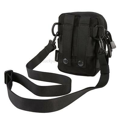 New Outdoor Tactical Molle Hiking Travel Sport Shoulder Sling Chest Pouch Bag