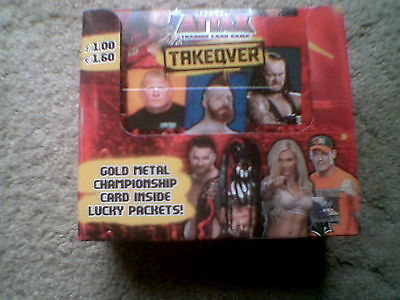 Topps Slam Attax Takeover - Champion Cards - Gold & Red -