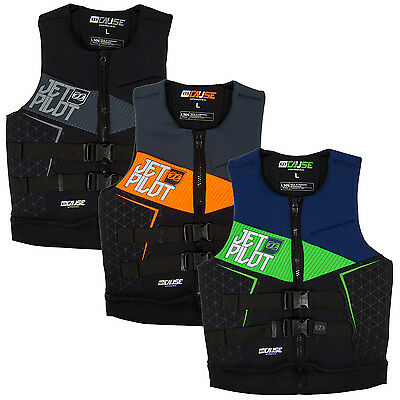 Jet Pilot The Cause L50s F/E  Mens Water Ski Jacket Wakeboard Neo Vest Assorted