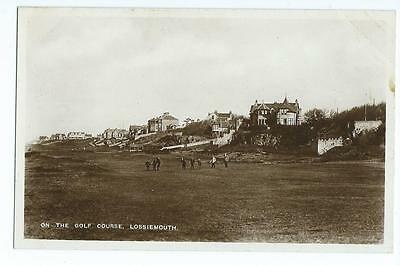 Nairnshire RP of the Golf Course, Lossiemouth