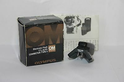 Olympus Electronic TTL Auto Connecter Type 4 Connector for OM-1n/2n Film Camera