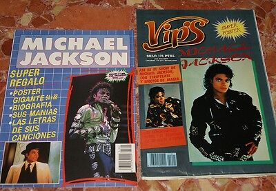 Michael Jackson Spanish Magazine Complete+ Giant Poster Book