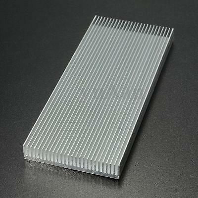 100x41x8mm Aluminum Heat Sink Heatsink for Computer LED Power IC Transistor