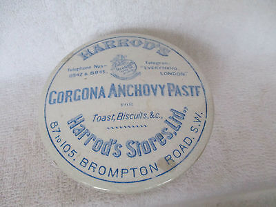 Blue Print Harrods  Lid And Base