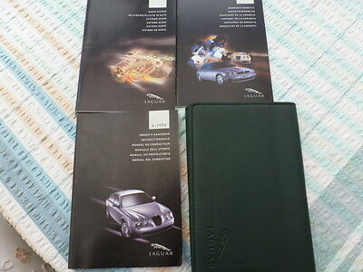 Jaguar S TYPE HAND BOOK PACK AND WALLET