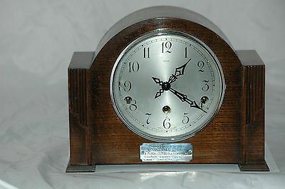 Antique/vintage Enfield Westminster Chimes Mantle Clock.