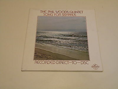 The Phil Woods Quintet - Song For Sisyphus - Ltd Edt Direct To Disc 1978 U.s.a.