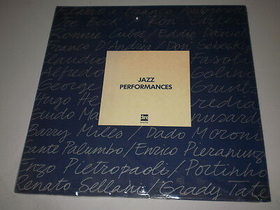 JAZZ PERFORMANCES - Music by TITO FONTANA - SEALED LP DIRE RECORDS - ITALY JAZZ
