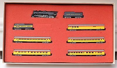 N Scale-Con Cor Chessie Safety Express 8 Car Limited Edition Set #0001-008510