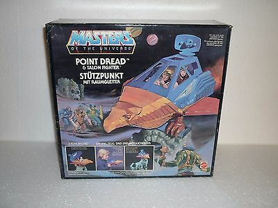 Motu Point Dread Masters Of The Universe -  1982 Mint New Old Stock -