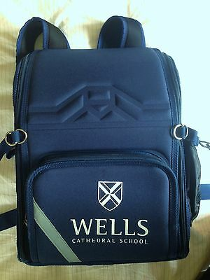 Wells Cathedral Independent/Private School Backpack Bag VGC