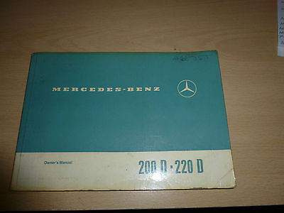Mercedes Benz 200 D 220 D Diesel Car Saloon German Germany