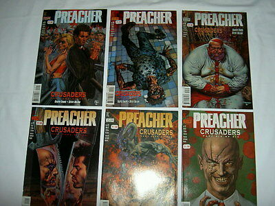 PREACHER 19,20,21,22,23,24 CRUSADERS :complete 6 PART STORY by ENNIS,DILLON.1996
