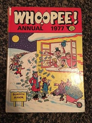 Whoopee! Annual 1977 Comic Book Fleetway Annual