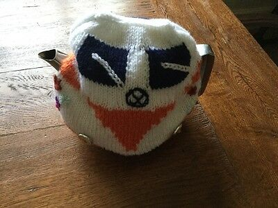 VW Combi Hand Knitted Flower Power Tea Cosy