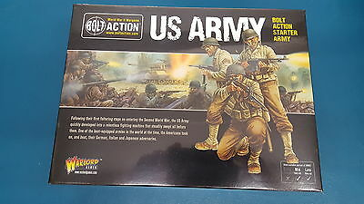 US Army - Bolt Action Starter Army - Warlord Games NEW