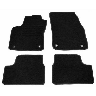 Opel ASTRA H TWIN TOP off 05.2006 Velour Car Mats Kit 4-piece NEW
