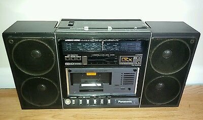 Vintage Panasonic RX-F32L Ambience Stereo 4 Band Dolby Vintage Cassette Radio