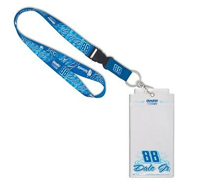 Dale Earnhardt Jr. Official NASCAR  Lanyard Credential Holder by Wincraft 792259