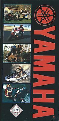 Motorcycle Brochure - Yamaha - Product Line Overview incl Scooter c1998 (DC441)