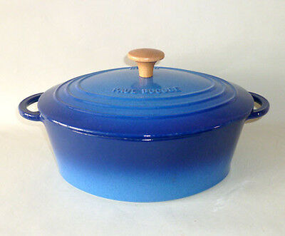 Vintage Emaille Topf Norma Gusseisen Paul Bocuse Frankreich Casserole