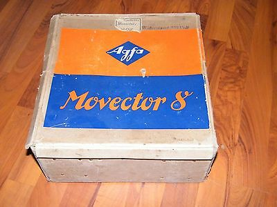 Agfa movector 8 in OVP mit Spule