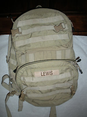 EUC Desert Tan Spec Ops T.H.E. Pack MOLLE Tactical Backpack