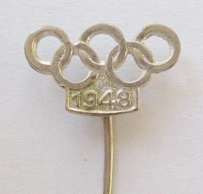 1948 London Olympics Vintage Stick Pin Badge (1)