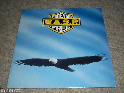 "Wasp- Forever Free Vinyl 7"" 45Rpm P/s"