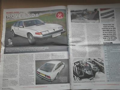 Rover Sd1 - Buyers Guide