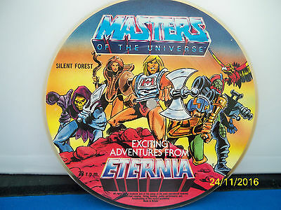 """Masters Of The Universe """"silent Forest""""  33 Rpm  Single"""