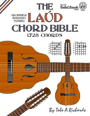 Laud Chord Bible 1,728 Chords Chord Dictionary New!!!