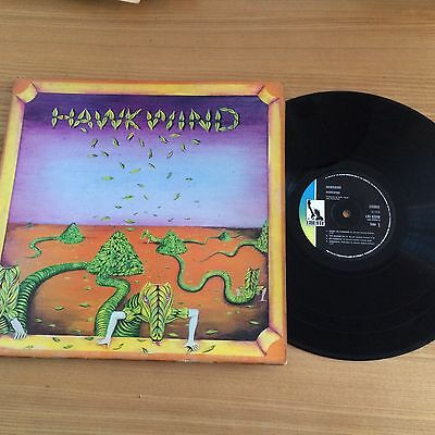 Hawkwind..self Tittled Debut Album..uk Early Issue...liberty Lbs 83348