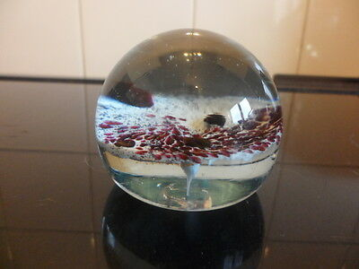 glass paperweight GUERNSEY must see