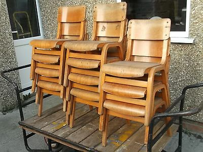 Children`s School STACKING CHAIRS or for the Teddy Bear