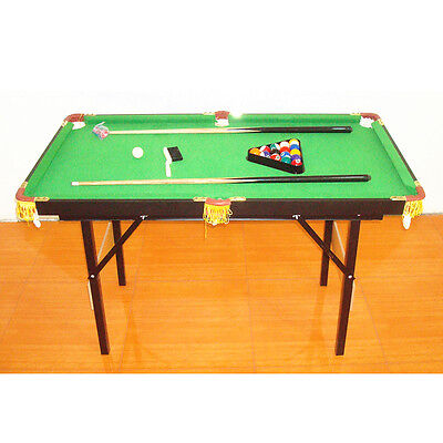 1Set Billiard Children's Pool Table with Acessories 1.4m