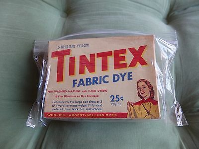 Vintage Tintex Color Remover Unopened Full Package