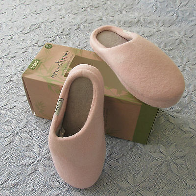 Ladies eco- slippers size small 3/4 new in box