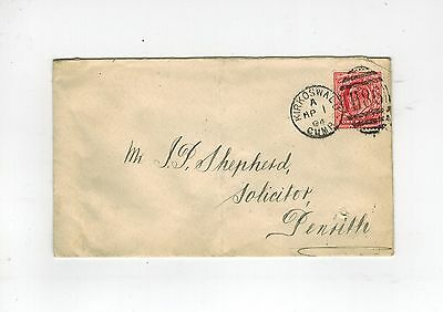 Gb Edvii 1904 Cover With Kirkoswald Duplex Cancel No. H86 To Penrith