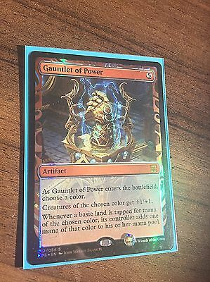 NEW FOIL Gauntlet Of Power INVENTION KALADESH Magic The Gathering