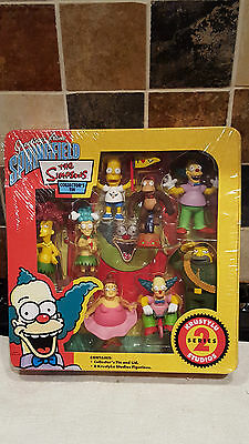 The Simpsons Collectors Tin - Series 2- Krustylu - Brand New & Sealed - Rare