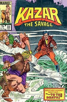 Ka-Zar the Savage (1981) #33 VF