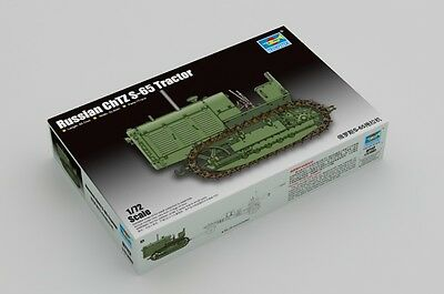 TRUMPETER® 07112 Russian ChTZ S-65 Tractor in 1:72