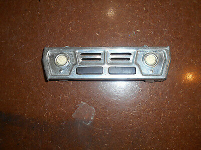 tonka truck grill rubber 2 headlight for parts
