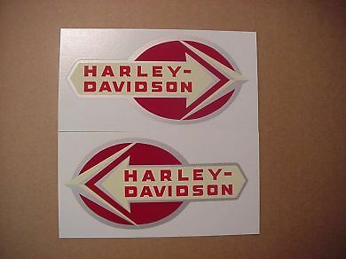 New 1959-1960 Harley Hummer Super-10 Gas Tank Decal Set 61769-59