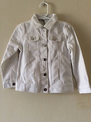 NEW M&S Girls Denim Jacket  Age 3-4 Years