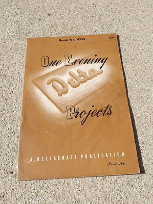Vintage One Evening Delta Projects Book # 4555
