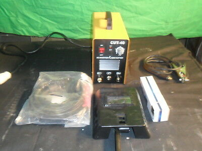 PLASMA CUTTER CUT 40 C/W TORCH  OVER 5000 SOLD reduc last few UK STOCK UK SELLER