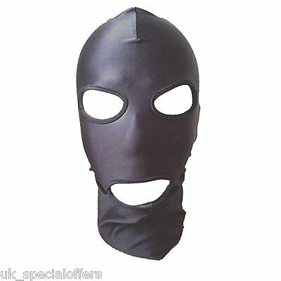 Spandex Stretchy Gimp Mask Hood Fetish / Adult / Play Stag Hen Night